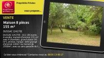 A vendre - maison - DUSSAC (24270) - 8 pièces - 155m²