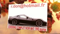 Ferrari 599 GTB noir mat, Ferrari 599 GTB noir mat, Ferrari 599 GTB noir mat, Ferrari 599 GTB Covering noir mat, Ferrari 599 GTB peinture noir mat, Ferrari 599 GTB noir mat