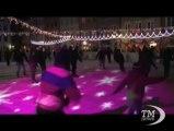 Varsavia s'illumina per il Natale 2013. Migliaia di forme e luci colorate arricchisono il centro storico