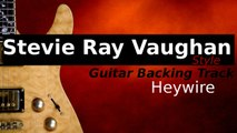 Stevie Ray Vaughan Style Texas Shuffle Backing Track for Guitar in G Minor and G Major - Heywire