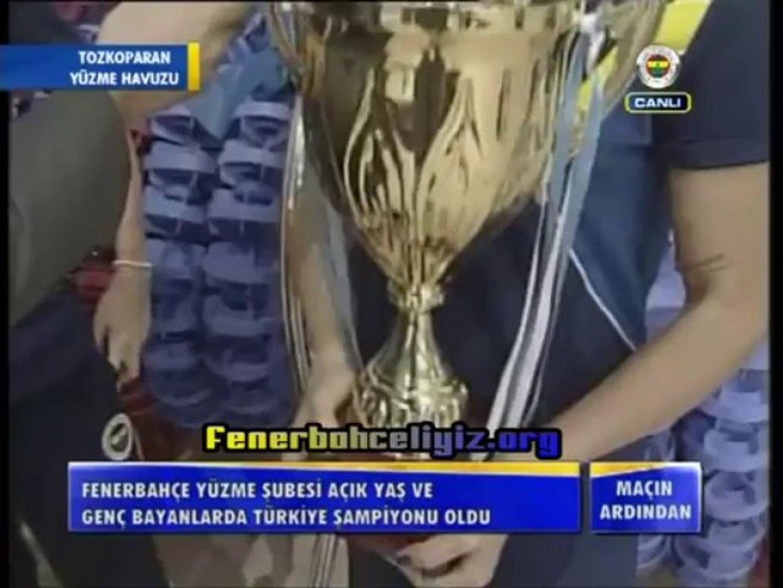 Fenerbahçe Yüzme Şubesi, Açık Yaş ve Genç Bayanlarda Türkiye Şampiyonu Oldu