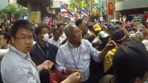 Bangkok (Thailand) 22:12:2013 Demonstration or quest money for Suthep Thaugsuban