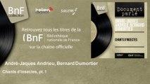 André-Jaques Andrieu, Bernard Dumortier - Chants d'insectes, pt. 1