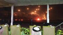 Tir à balles réelles en pleine nuit en Arabie Saoudite