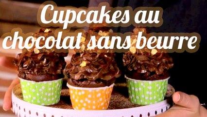 Cupcakes bio agrumes-chocolat au tofu soyeux et pépites de gingembre