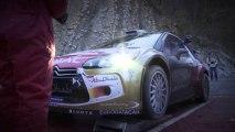 Kris Meeke and Mads Ostberg testing before Rallye Monte-Carlo - Citroën WRC 2014