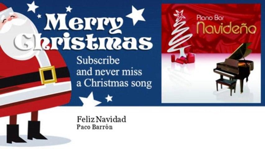 Paco Barrón - Feliz Navidad
