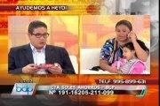 BDP realiza campaña solidaria a favor de niña con parálisis cerebral (2/5)