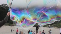 surf soap bubbles see very very big bubbles for children