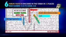 The names 'Adnan Oktar' and 'Harun Yahya' that appear encoded in the Torah indicate the books of Harun Yahya