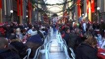 A Napoli pranzo di Natale per i bisognosi alla Galleria Principe