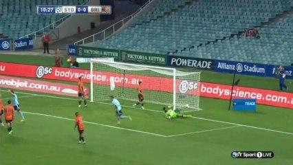 Alessandro Del Piero Amazing Free Kick Goal ~ FC Sydney vs Brisbane Roar 1-0 HD