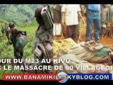 Retour du M23 :Plus de 60 villageois assassinés en 1 semaine par le M23 déguisé en ADF LANU infiltré depuis l'Ouganda