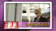 Laetitia Casta inaugure les Champs Elysées !