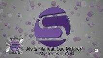 Aly & Fila Ft. Sue McLaren - Mysteries Unfold