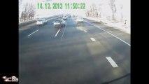 Gros accidents de voiture, Road rage en tout genre. Compilation de Russes tarés sur la route!