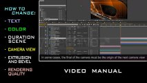 Realistic 3D Reflection - After Effects Template