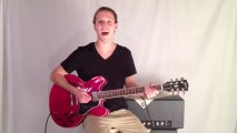 Blues Guitar Lesson- 12 Bar Blues Progression Guitar Riff in E - How to Play the Blues -