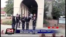 EEUU: celebran primera boda gay en base militar de Carolina del Norte