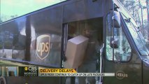 UPS, FedEx still catching up with late Christmas deliveries