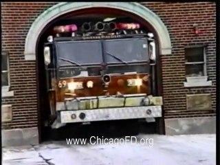 Chicago Fire Dept. - Engine Co 69 Still & Box Alarm at 4039 N. Kedvale