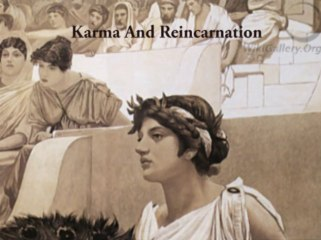 Karma and Reincarnation talk by Sri Allen Feldman
