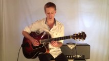Jazz Guitar Lesson - Bebop Guitar Lick in the Style of Charlie Parker Over the Chords II V I