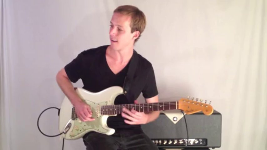 Blues Guitar Lesson – Pentatonic Guitar Lick in the Style of Jimmy Hendrix in E minor