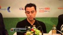 """Xavi: """"Le daría el balón de oro a Messi, después a Ribery y luego a Cristiano"""""""