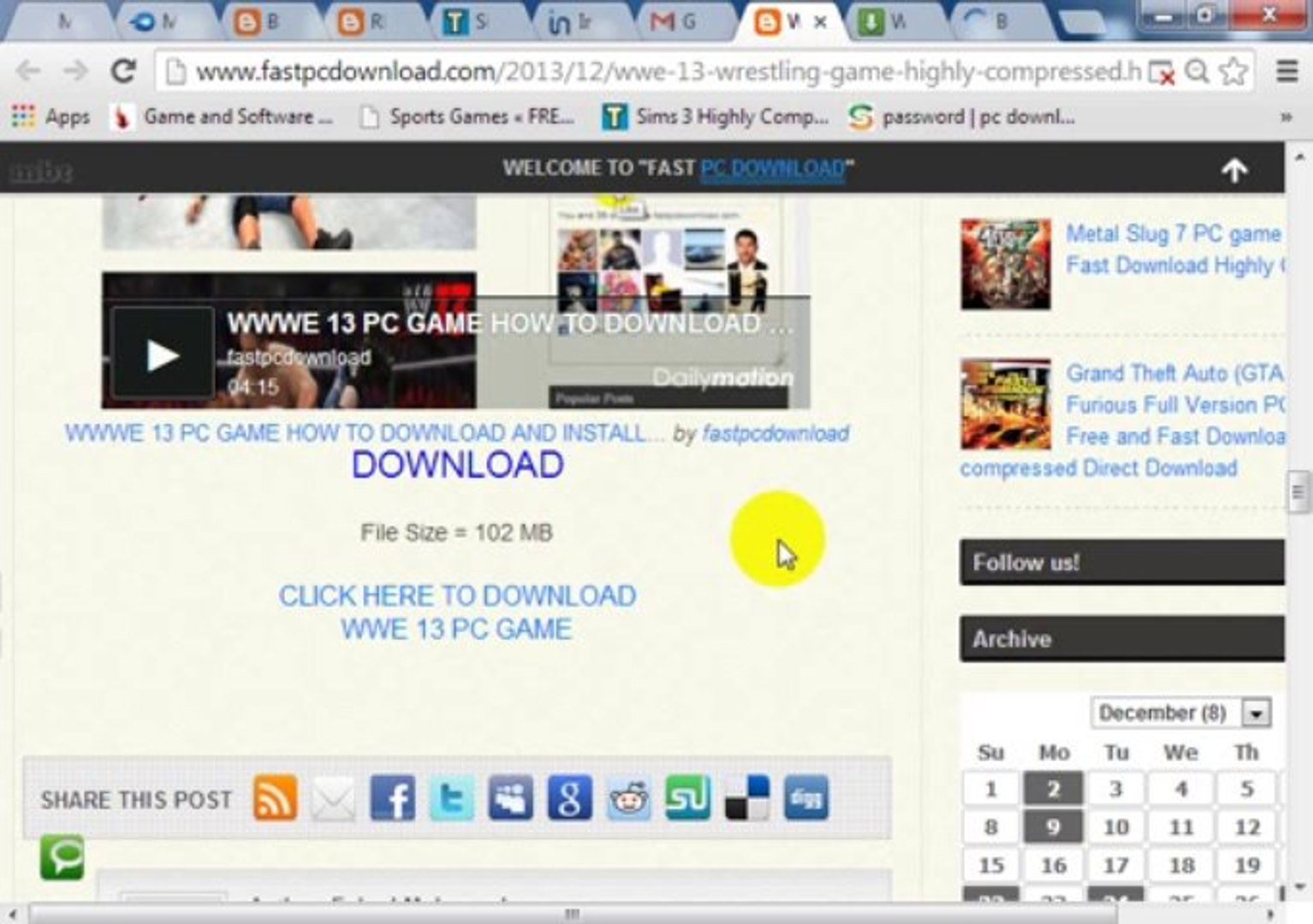how to download Games From www fastpcdownload com