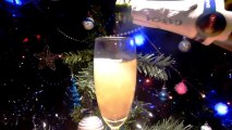 New Year Champagne 8 (Slow motion) - Free HD stock footage