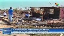 Fenómenos climáticos causan devastación en EE.UU. en 2013