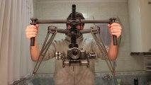 Amazing camera stabilize demo - EOS M gimbal - extreme angles