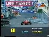 F1 - The best Qualifying lap ever - Michael Schumacher - Monaco Grand Prix 1996
