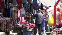 Trek from Lukla to Mount Everest base camp Nepal