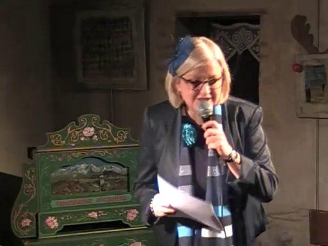 Sylvalavie, présentatrice
