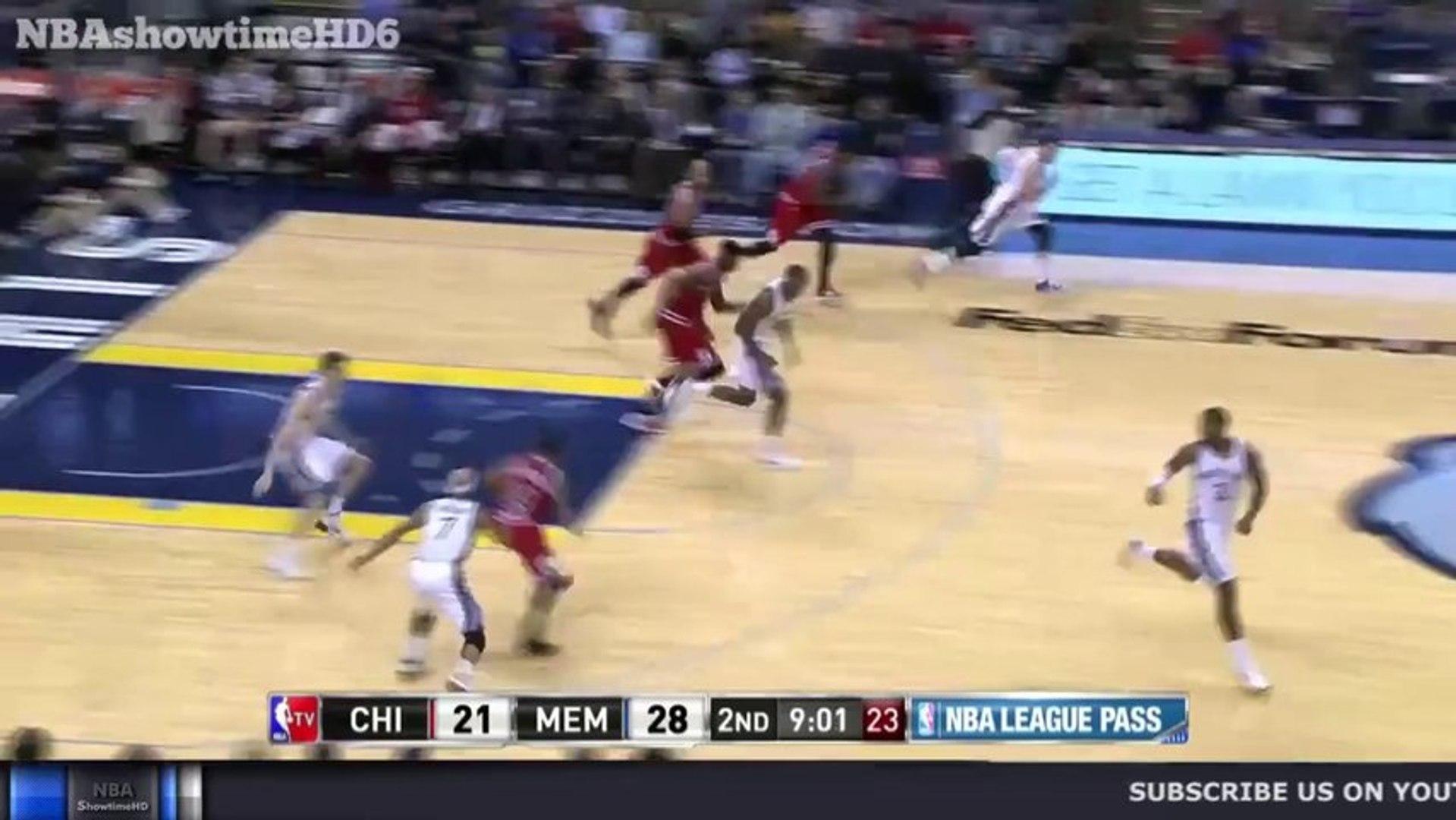 Taj Gibson's NASTY Throwdown - Bulls vs Grizzlies - December 30, 2013 - NBA 2013-2014 Season