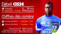 Djibril Cissé à Bastia, les chiffres clés !