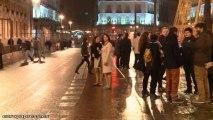 Los madrileños dan la bienvenida al 2014