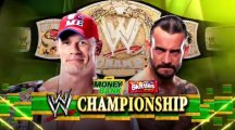 WWE Money in the Bank 2011 CM Punk vs John Cena Official Promo