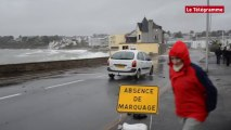 Concarneau. Submersion aux Sables-Blancs