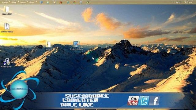 Como Descargar Instalar Gadgets En Windows Pro 8 | x32 x64 | 100% 2014