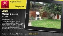 A vendre - maison - SARAN (45770) - 5 pièces - 91m²
