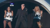 """PITBULL """" Medley """" Live At The New Year's Rockin' Eve 31/12/2013 (HD - Part 8 & End)."""