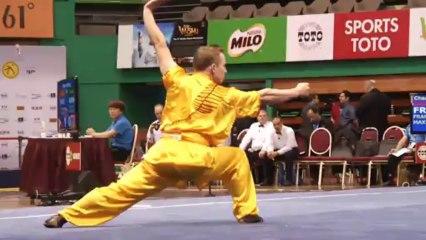 Focus sur Maxime Frankinet, technicien taolu - 12e Championnat du monde de Wushu - Kuala Lumpur