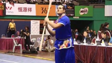 Focus sur Samy Benferlou, technicien taolu - 12e Championnat du monde de Wushu - Kuala Lumpur