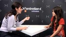 Entretien Orange-La Provence : Marina d'Incroyable talent  se teste a cappella