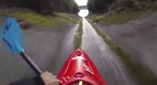 Extreme speed Kayak - More than 50km/h!! Ben Marr - Lions Bay (British Columbia - Canada)