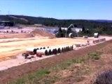 Visite guidée du chantier d'Iter; à Cadarache