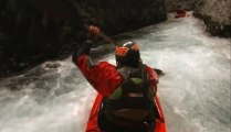 Rush Sturges Impressive Whitewater Chute filmed with GoPro
